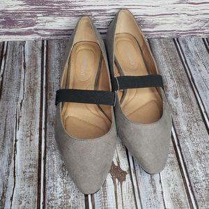 NWOT Lane Bryant mary Jane pointed toe flats